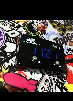 Digital Clock Gauge BLUE **Replace that broken clock ** 180SX 200SX Track JDM **