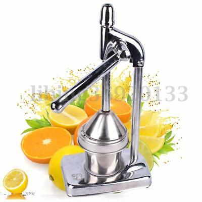 Commercial Manual Press Orange Squeezer Citrus Juicer Juice Extractor Stainless