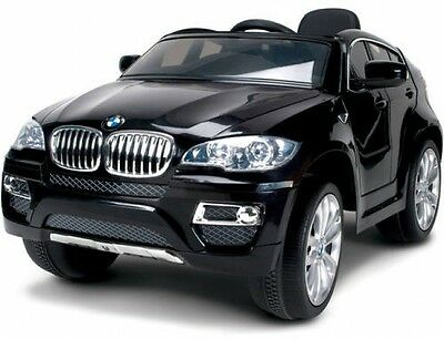 ride on childrens play bmw x6 kids car battery powered wheels electric toy black
