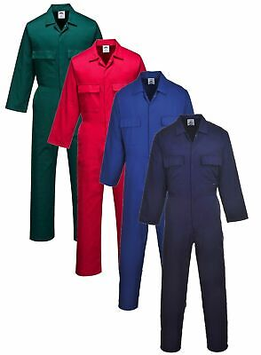 Portwest S999 Euro work coverall/boilersuit/overalls all colours size XS-5XL