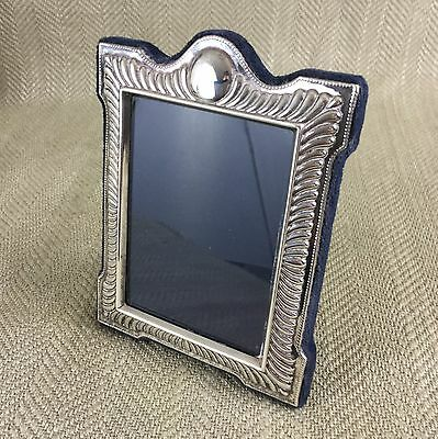 Vintage Silver Plated Picture Frame Carr of Sheffield Antique Style Ornate