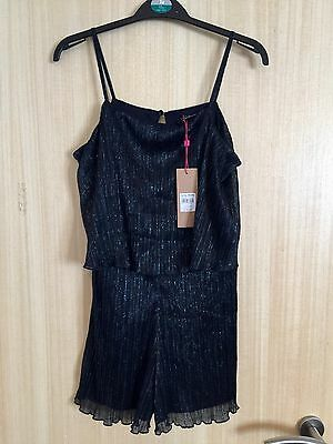 Girls Bnwt M&Co Party Playsuit Size 11-12 Years Rrp £18