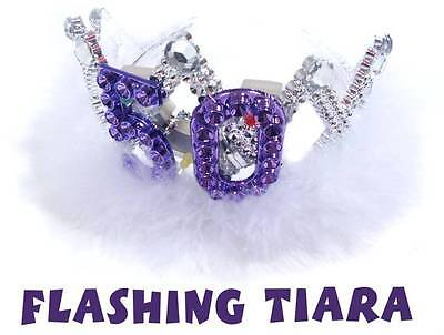 Tiara: Flashing 50th Birthday