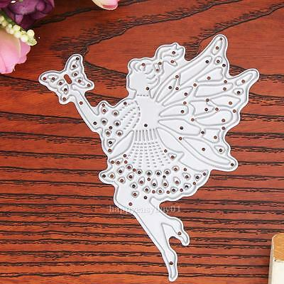 Fairy Metal Cutting Dies Stencil For DIY Scrapbooking Embossing Paper Card Decor