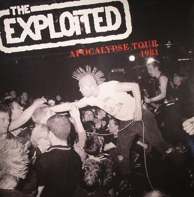 EXPLOITED, The - Apocalypse Tour 1981 - Vinyl (LP)