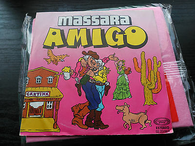 Single Promo Massara - Amigo - Movieplay Spain 1980 Vg+