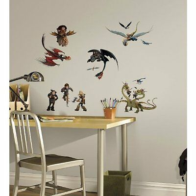 ROMT-RMK2508SCS-RoomMates How to Train Your Dragon 2 Peel and Stick Wall Decals