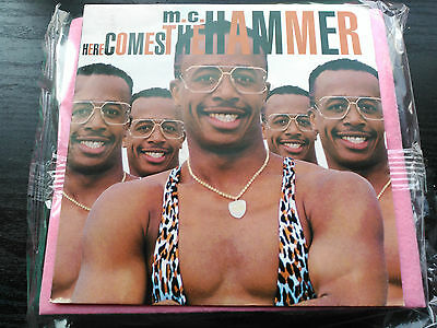 Single M.c. Hammer - Here Comes The Hammer - Capitol Europe 1990 Vg+