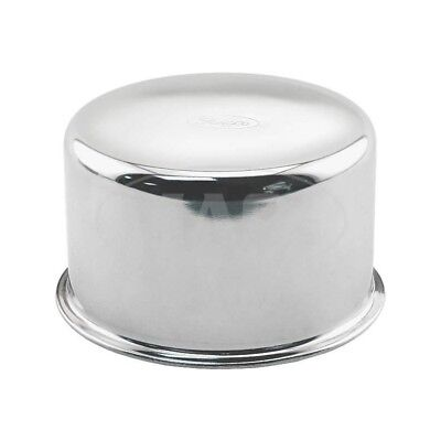 Ford Mustang Oil Filler Breather Cap - Reproduction - Push-On Type - Chrome -