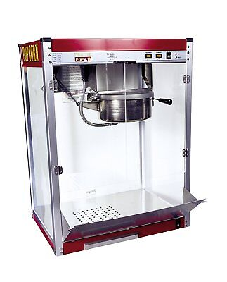 Paragon Theater Pop 16 Ounce Professional High Output Popcorn Machine, 1116110