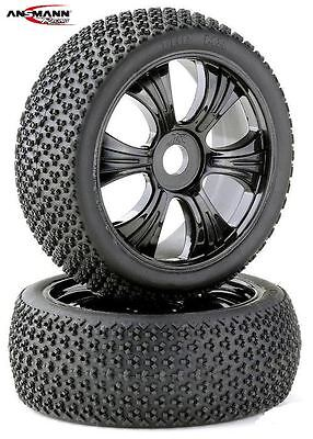 Ansmann Racing 214000053 Truggy Buggy Wheels LP 1:8 black - 2 Stück  145 x 70 mm