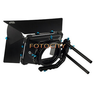 FOTGA DP3000 M3 Matte Box M3 Swing away Quick Lens Change For 15mm Rod DSLR Rig