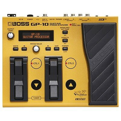 Boss GP-10GK Guitar Processor with GK-3 Pickup and Cable (B Stock)