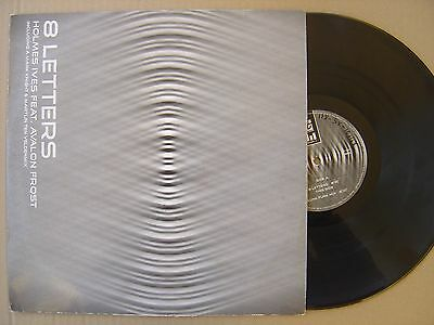 """HOLMES IVES feat AVALON FROST 8 letters ITALY 12"""" MILANO 2005 PROGRESSIVE HOUSE"""