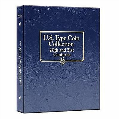 WHITMAN CLASSIC U.S. TYPE COIN COLLECTION 20th & 21st CENTURIES Album #3688