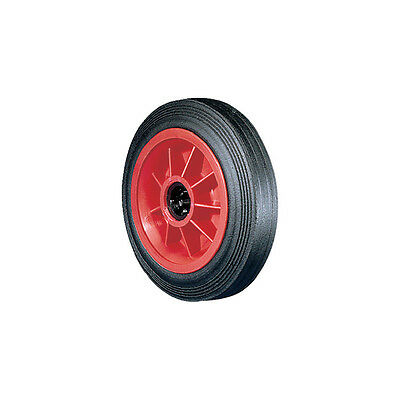 "Atlas Workholders Rubber Tyre Polyprop' Ctr160Mm-1/2""B Wheel"