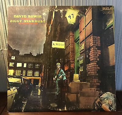 "David Bowie ""The Rise And Fall Of Ziggy Stardust And The Spiders From Mars"" 1972"