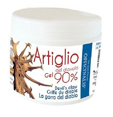 Artiglio del Diavolo 90 % Gel Antinfiammatorio Distorisioni 500ml Officinalis