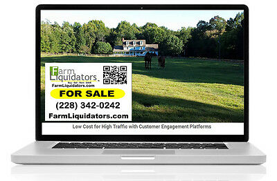 For Sale Smart-Phone Sign Sends Buyers to YOUR Online Property Page with FB LIVE