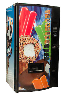 Fastcorp Ice Cream Frozen Ice Cream Vending Machine Model F820 Reconditioned