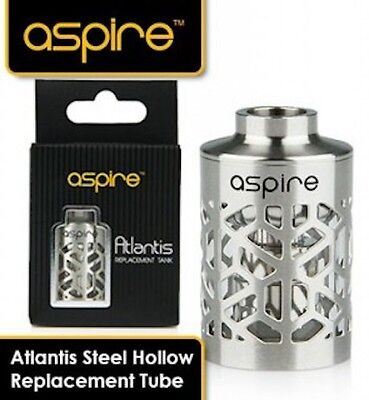 Aspire Atlantis V1 2ml Hollowed Hollow out Tank Sleeve Tube Glass