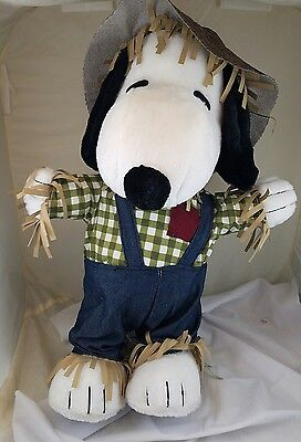 Large Snoopy Peanuts Scarecrow Plush Doll