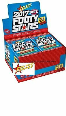 2017 AFL SELECT FOOTY STARS FACTORY SEALED CASE - 12 x BOXES + CASE CARD