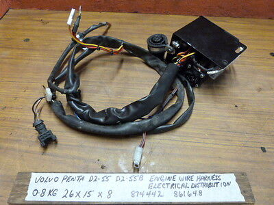 $295.00 USD Volvo Penta D2-55 D2-55B Engine Wire Harness 874442