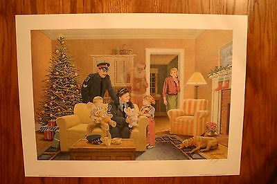 Santa's Helpers James Lumbers Signed & Numbered Limited Edition Print