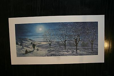 Frosty Night James Lumbers Open Edition Collectors Print