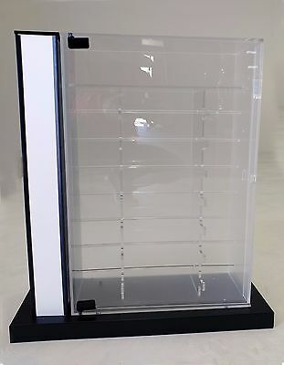 Sunglasses Countertop Acrylic Display Case with Lock and Key
