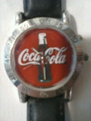 One New Coke Cola Light Up  Wrist Watch .  New No Box