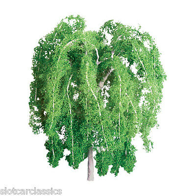 """Jtt Scenery 94266 Professional Series 1"""" Weeping Willow Tree   Z-Scale  4 P/k"""