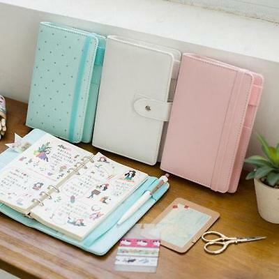 Pure light color classic my DIY diary A5 A6 spiral journal gift, 80P XT