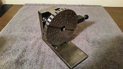 """Indexing Vertical Indexer Wheel Rotary Spin Tool Index 7"""" Table ? Machinist"""