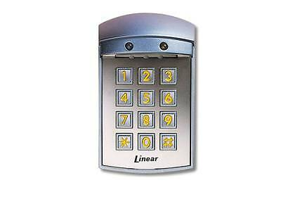 Linear AK-21W Exterior Digital Keypad 480 Entry Codes Access Control