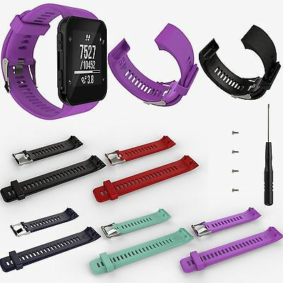 New Sports Silicone Watch Band Strap Bracelet for Garmin Forerunner 35 GPS Watch