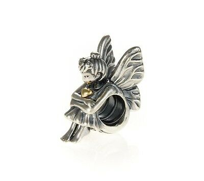 Genuine Pandora Genuine Silver and 14ct Gold Fairy Pixie Charm 791206