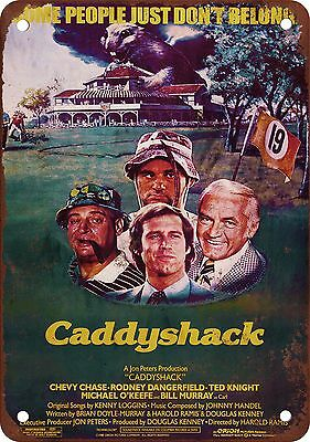 "7"" x 10"" Metal Sign - Caddyshack Movie - Vintage Look Reproduction"