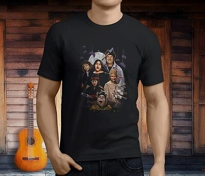 ROSEANNE FRIGHT MIDNIGHT MADNESS Halloween Men's Black T-Shirt Size S-3XL