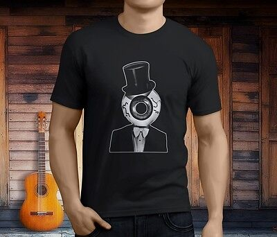 New The Residents Eyball Men's Black T-Shirt Size S-3XL