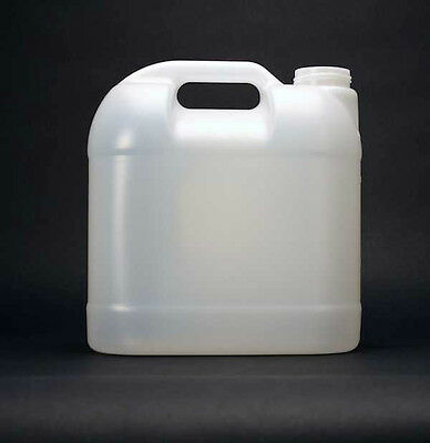 2-1/2 gallon (10 liter) HDPE Plastic Jug Container w/Spigot Cap or Screw-On Cap