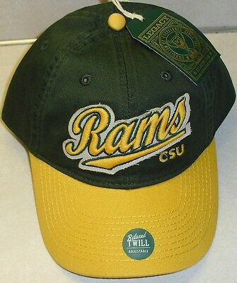 8173d664963 Colorado State University RAMS Adjustable Strapback hat (New with Tags!)  NCAA