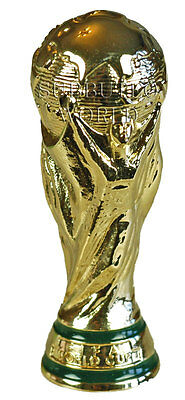 OFFICIAL LICENSED FIFA WORLD CUP TROPHY. SUBBUTEO SOCCER. 80mm HIGH.