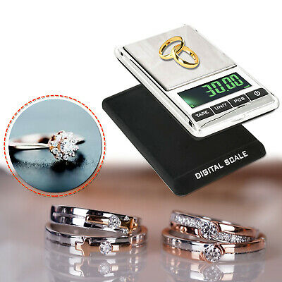 Mini Pocket Scales LCD Digital Electronic Compact Gold Jewellery Weighing 0.01g