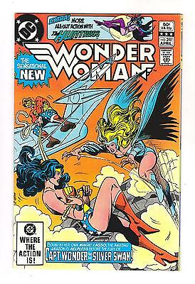Wonder Woman 290 (Vf-) Panic Over Pennsylvania Ave, Movie 2017, Silver Swan  *