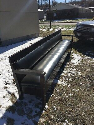 "8 Available Price Separate Antique Railroad Bench 6' 10"" -10'10"""
