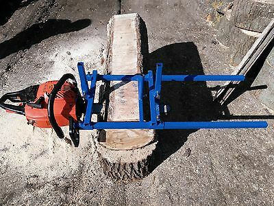 "Portable Chainsaw mill 24"" Inch Planking Milling Bar Size 14"" to 24"""