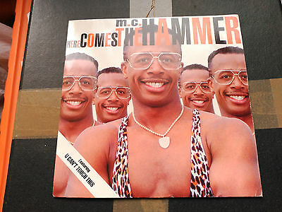 Single M.c. Hammer - Here Comes The Hammer - Capitol Uk 1991 Vg+