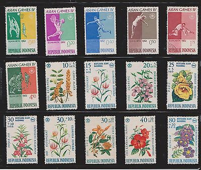(U13-12) 1960s Indonesia mix of 39stamps value to 3R  (D)